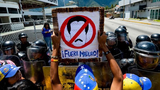 Una manifestación en Venezuela celebrada el pasado mes de septiembre