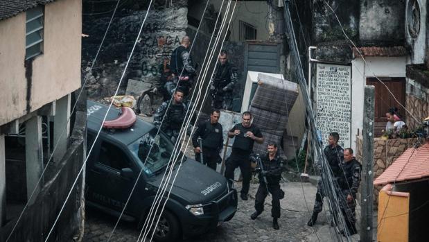 La policía identifica al asesino del turista italiano en una favela de Río de Janeiro