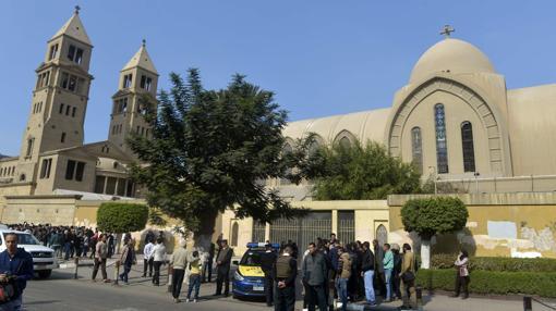 Exteriores del complejo atacado este domingo