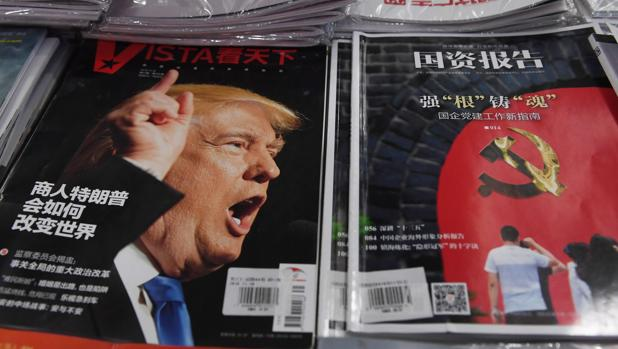 China advierte a Trump de que su relación con Taiwán «tendrá consecuencias»