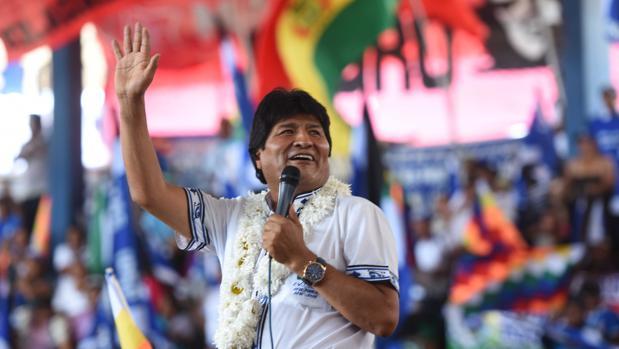 El presidente de Bolivia, Evo Morales, participa en el congreso del Movimiento Al Socialismo (MAS) - EFE