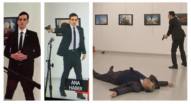 Asesinan al embajador ruso en Turquía al grito de 'Alepo venganza'