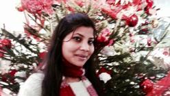 Saima Charles, residente del barrio cristiano de Lahore