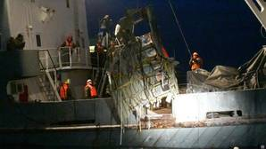 Rusia recupera 15 cuerpos del accidente del avión militar en el mar Negro
