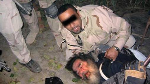 Captura de Sadam Husein el 13 de diciembre de 2003