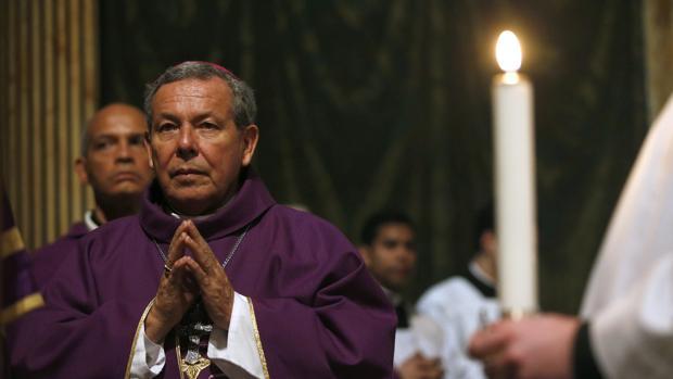 El arzobispo de Caracas