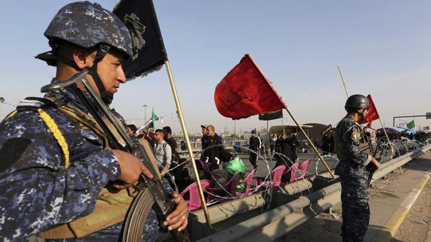 Al menos 18 muertos y 35 heridos por un doble atentado en Bagdad