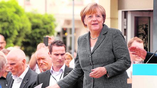 Angela Merkel, cuando anunció que se presentaba a un cuarto mandato