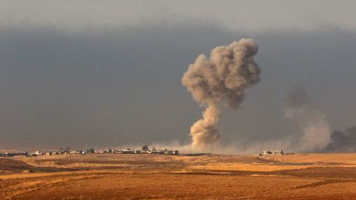 Ofensiva en Mosul, iniciada el 17 de octubre de 2017