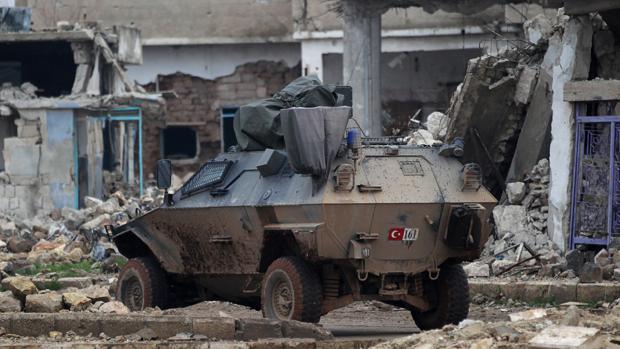 Rusia inicia el repliegue de sus fuerzas en Siria
