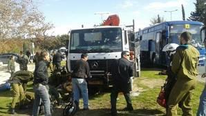 Abatido un palestino tras matar con un camión a cuatro personas y herir a una decena en Jerusalén
