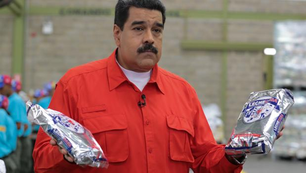 Nicolás Maduro, durante su programa de televisión