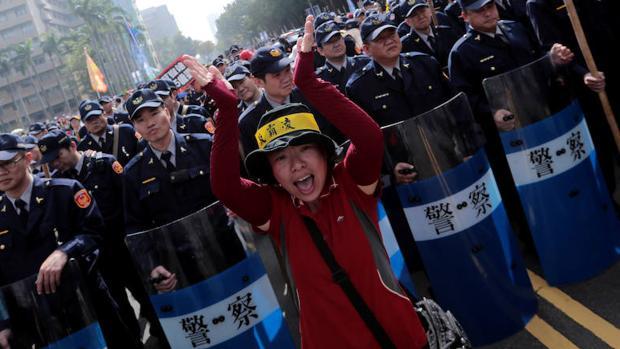 Taiwán aprovecha el cambio en EE.UU. para buscar su lugar en el mundo