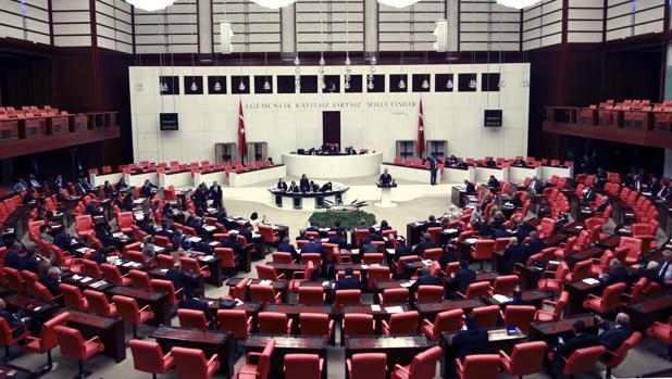 Una imagen del Parlamento turco