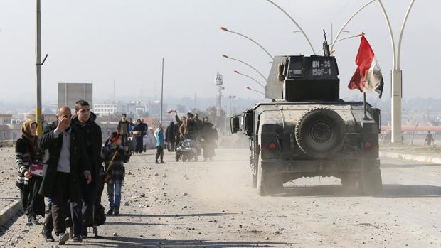 Hemeroteca: El Ejército iraquí anuncia la «liberación» del este de Mosul   Autor del artículo: Finanzas.com