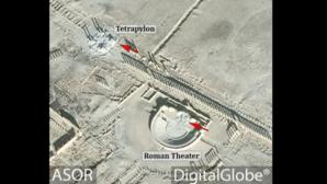 Daesh destruye el Tetrápilo y parte del teatro romano de Palmira