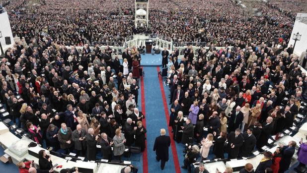 Sigue en directo la investidura de Donald Trump como presidente de Estados Unidos