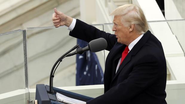 Diez frases que han marcado el discurso de investidura de Trump