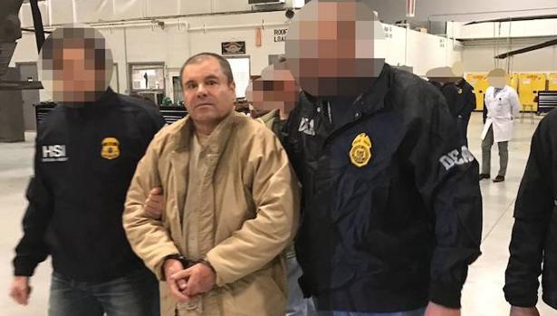«El Chapo» , a su llegada a Estados Unidos