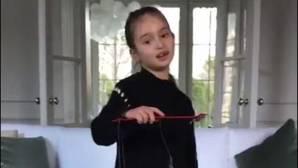 La nieta de Trump se convierte en una estrella mediática en China