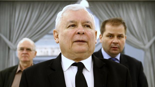 Jaroslaw Kaczynski, presidente del partido Ley y Justicia, la fuerza que gobierna Polonia, piensa que el museo sobre la II Guerra Mundial no es patriótico