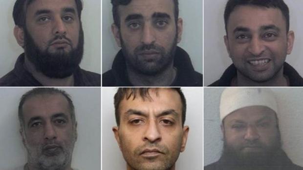 Los seis hombre condenados este mes a 81 años de cárcel