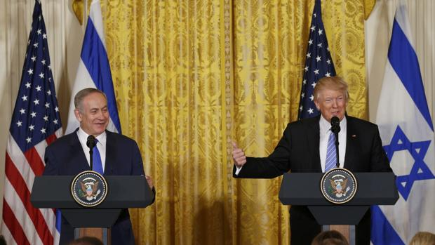 Trump se desliga del compromiso con la creación de un Estado palestino