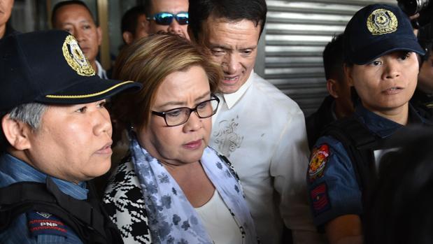Arrestada una de las figuras más críticas con el presidente Duterte
