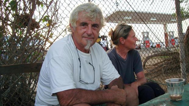 Jurgen Kantner, un turista alemán decapitado por los yihadistas filipinos, y su esposa, Sabine Merz, asesinada en el asalto a su barco