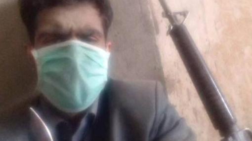 Un terrorista de Daesh en el interior del hospital