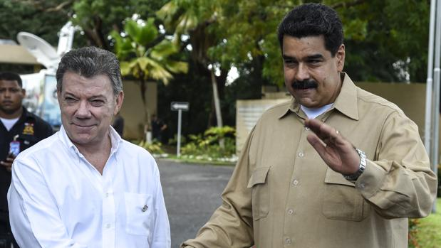 Maduro intenta recurrir a Santos para reactivar el diálogo con la oposición