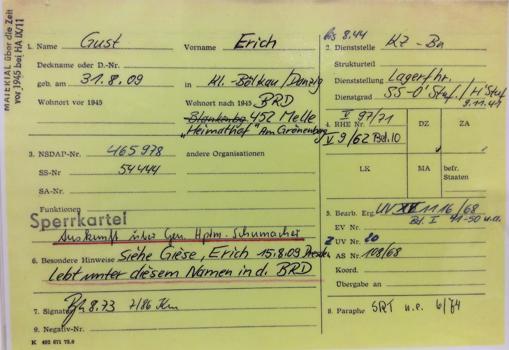La información de las fichas, más de 41 millones, era facilitada por amigos, novias o familiares de las personas vigiladas por la Stasi