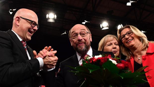 Martin Schulz, nuevo líder de los socialdemócratas alemanes