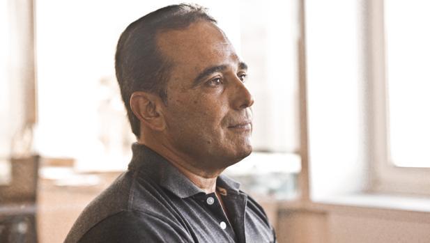 Eduardo Cardet, coordinador del Movimiento Cristiano Liberación, durante una entrevista a ABC en Madrid