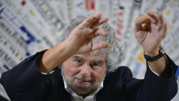 El movimiento populista de Grillo arrasa en los sondeos