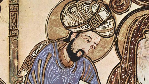 Detalle de una pintura árabe del siglo XIII