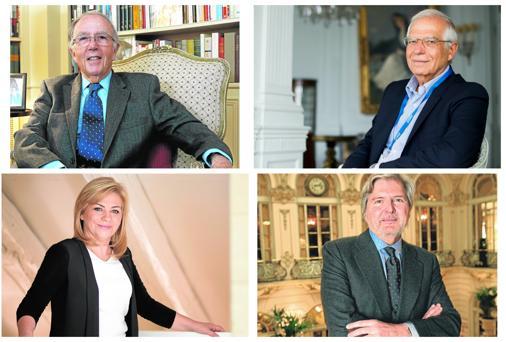 Cuatro personalidades españolas hablan sobre el presente y el futuro de la UE