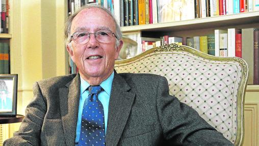 Marcelino Oreja, exministro de Exteriores y excomisario europeo
