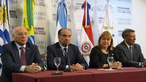 Mercosur pide «la separación efectiva de poderes»