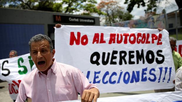 Protestas contra el gobierno de Nicolás Maduro