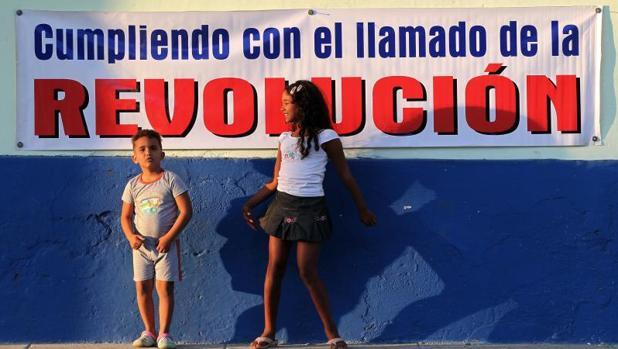 Propaganda castrista en la provincia de Ciego de Ávila (Cuba)