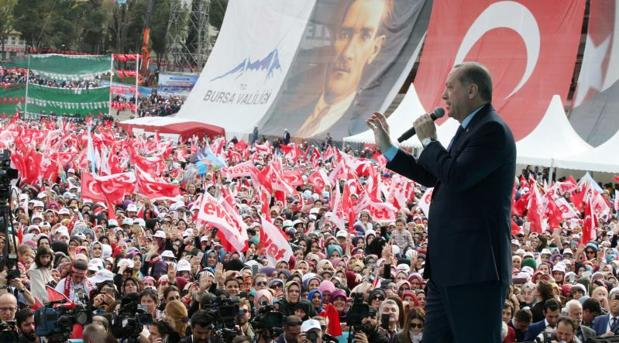 Hemeroteca: Erdogan califica a Europa como el «centro del nazismo» | Autor del artículo: Finanzas.com