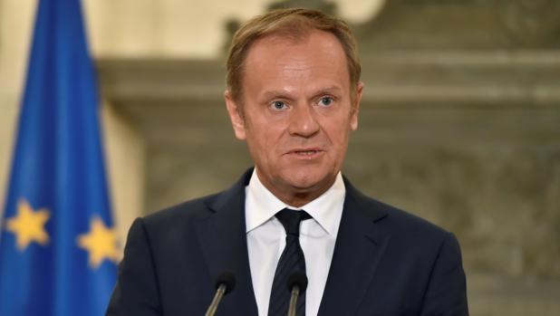 Hemeroteca: May y Tusk se reúnen hoy para tratar las negociaciones sobre el Brexit   Autor del artículo: Finanzas.com