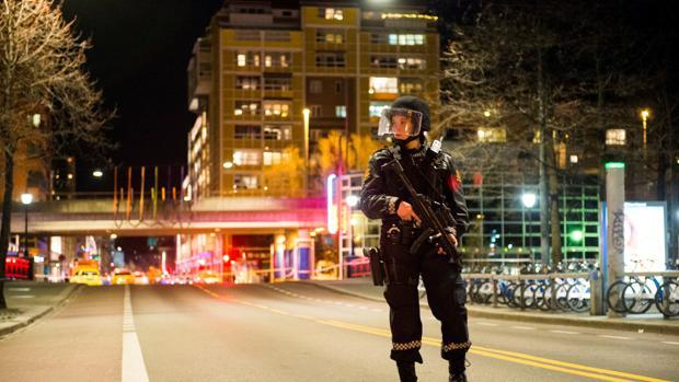 Un detenido tras la aparición de un paquete sospechoso en el centro de Oslo