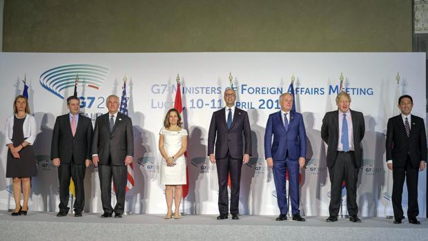 El G7 rechaza más sanciones contra Siria y pide una salida política para el conflicto