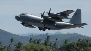 MC-130 similar al que ha lanzado la bomba