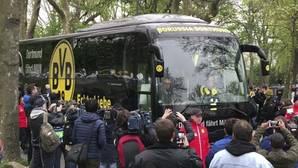 Imagen del autobús que sufrió el ataque