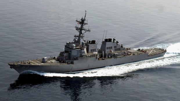EEUU despliega su destructor «USS Stethem» en el mar de China Meridional