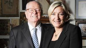 Le Pen, padre e hija