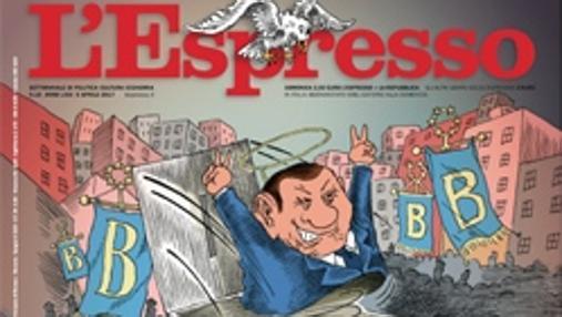 La portada de «L' Espresso», con un Berlusconi que resurge de sus cenizas, evidencia de hasta qué punto el político conservador se ha adueñado del centro de la escena política italiana